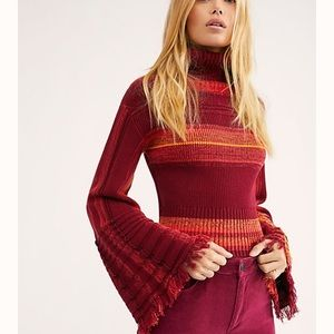"""Free People """"Close To Me"""" Pullover"""